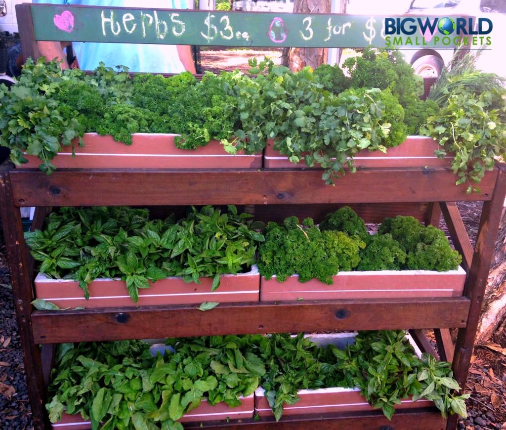 Herbs at Market