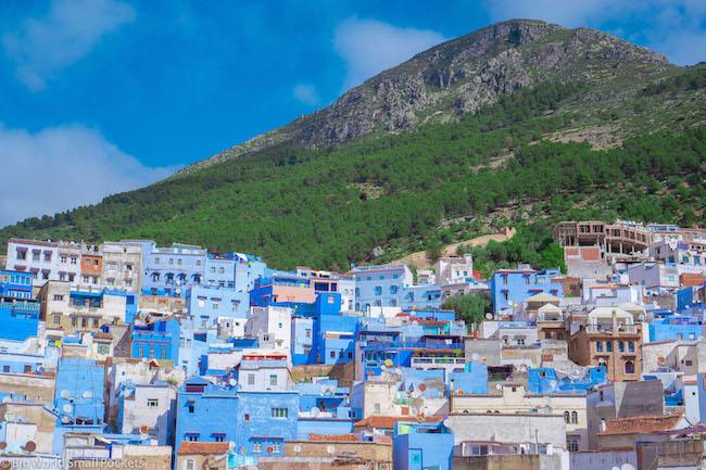 Morocco, Chefchaouen, Mountains