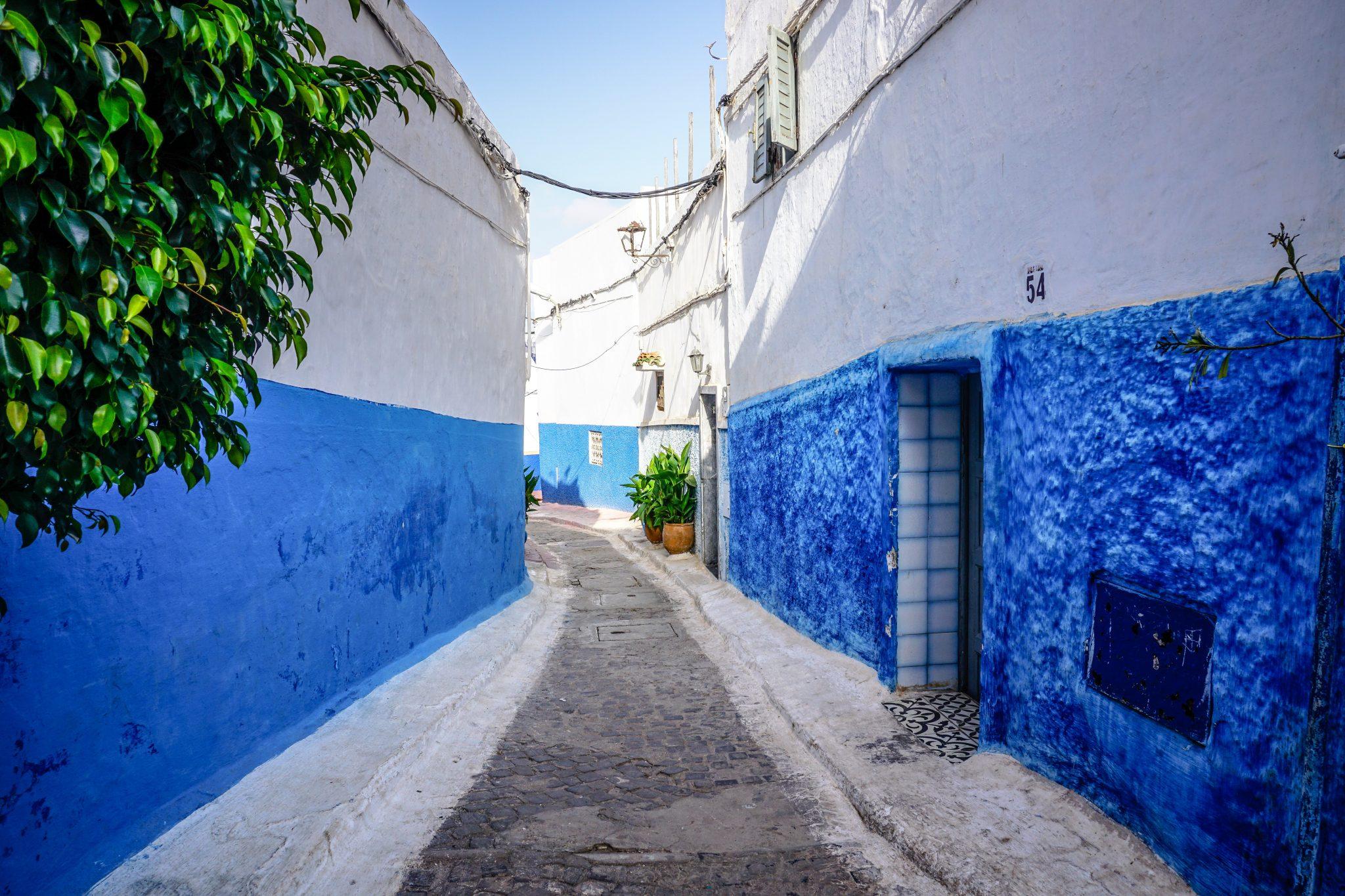 Morocco, Chefchouen, Street