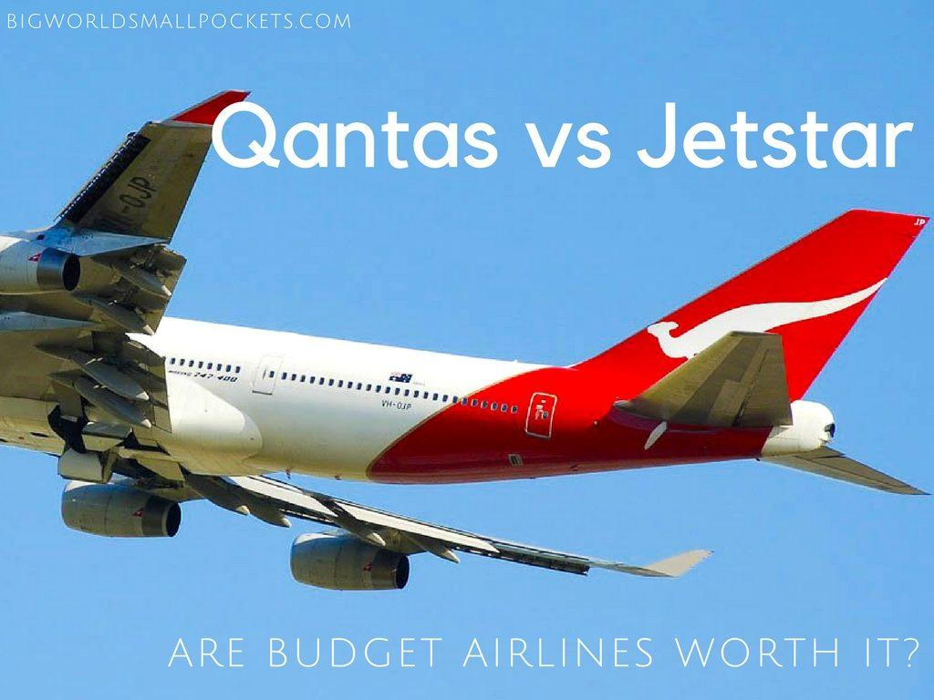 Qantas vs jetstar are budget airlines worth it big world small qantas vs jetstar are budget airlines worth it stopboris Images