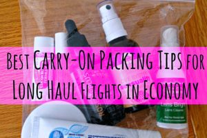 Best Carry On Packing Tips for Long Haul Flights in Economy