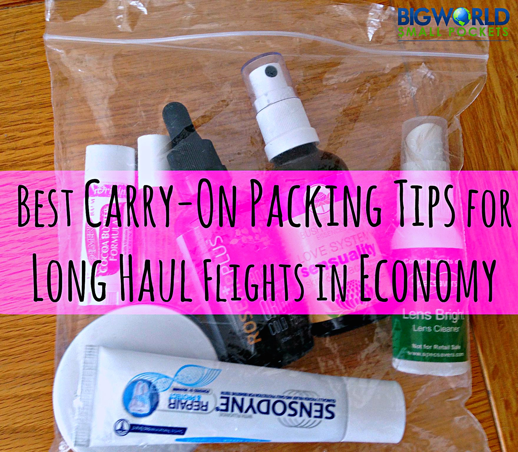 Best Carry-On Packing Tips