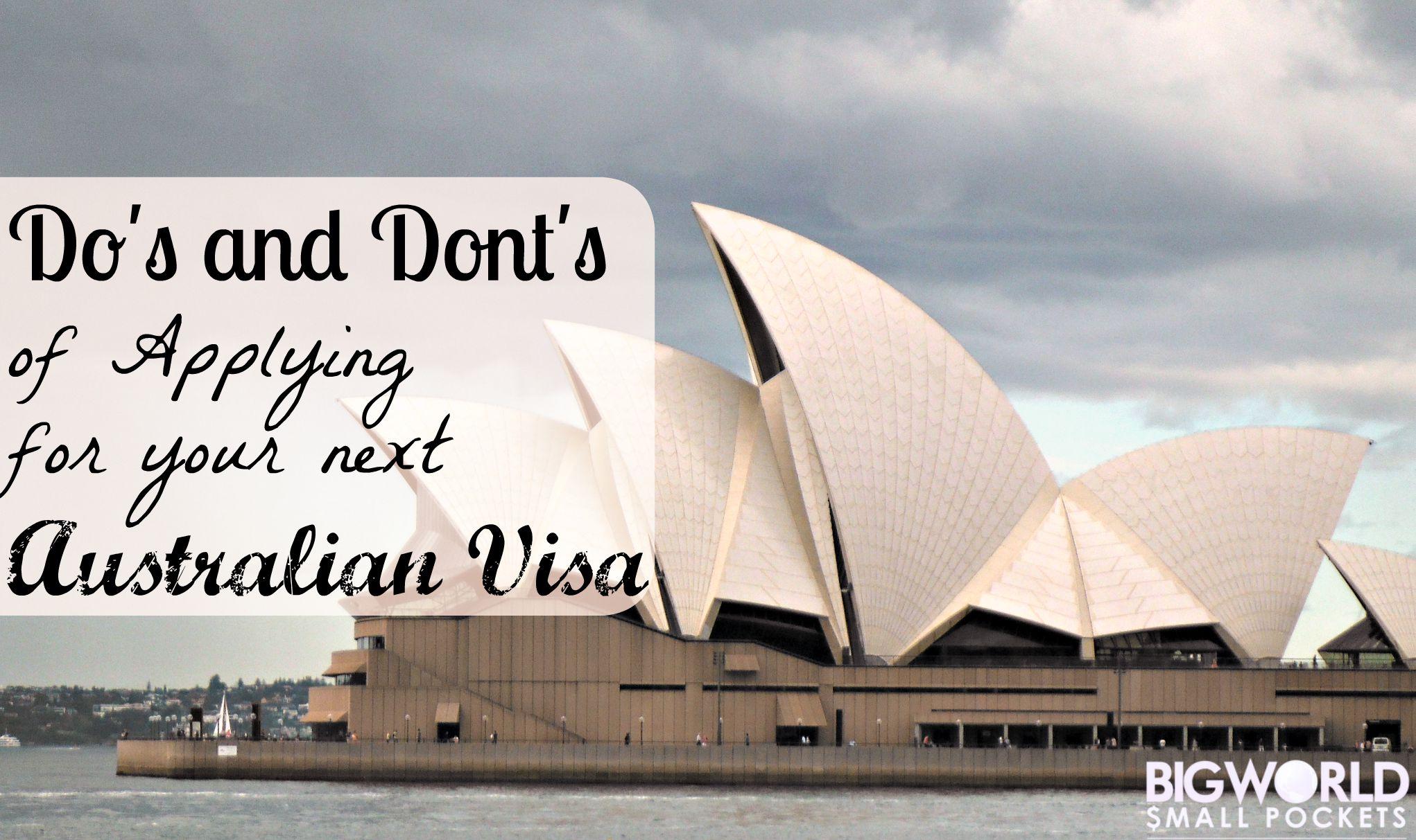 Applying for your Next Australian Visa
