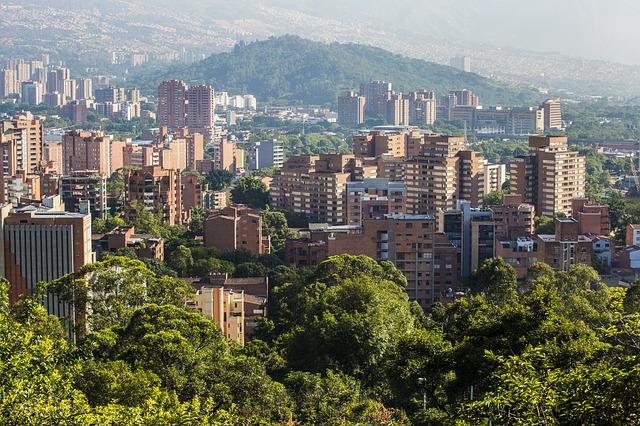 Colombia, Medellin, Cityscape