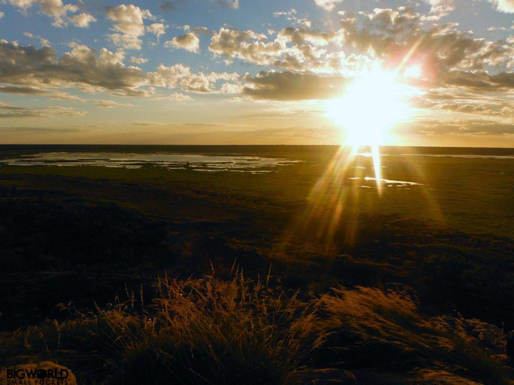 Australia, Ubirr, Sunset