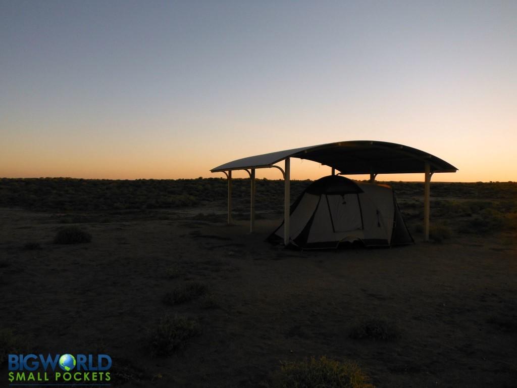 Camp Lake Eyre