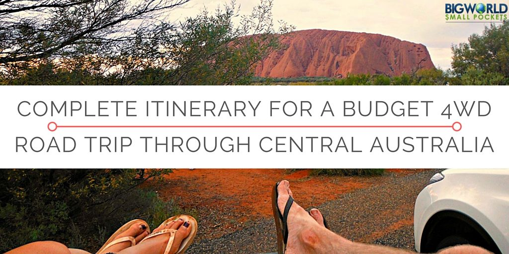 Complete Itinerary for Budget 4WD Road Trip through Central Oz feature