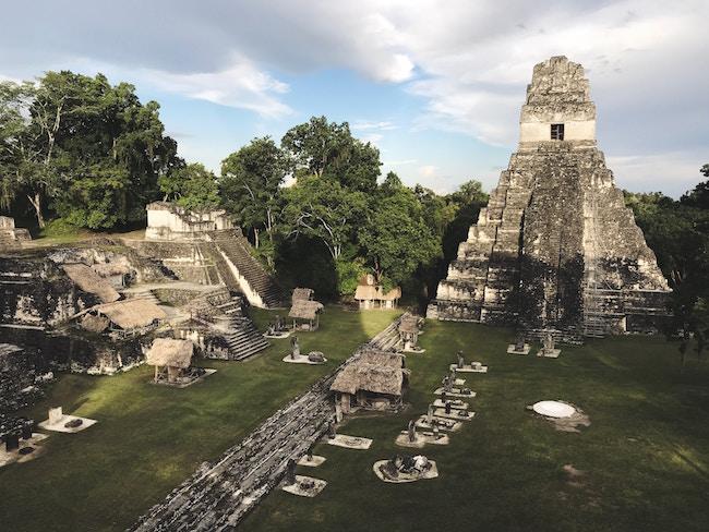 Guatemala, Tikal, Central Sq