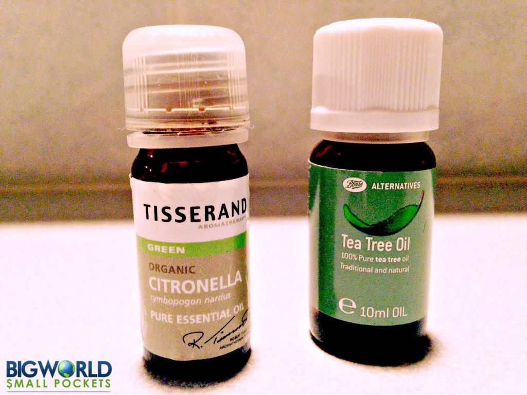 Citronella & Tea Tree Oils