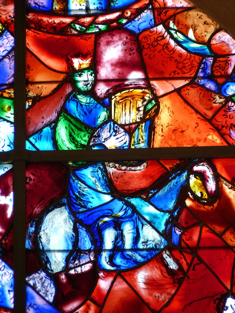 The BEST Budget Friendly Things to Do in Nice, France ... Chagall Glas In Lood