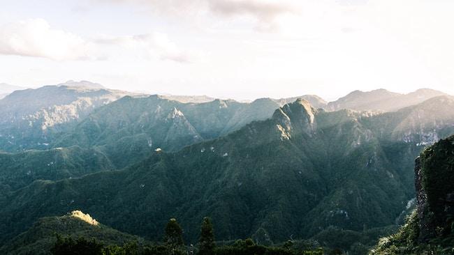 New Zealand, Pinnacles, Walk