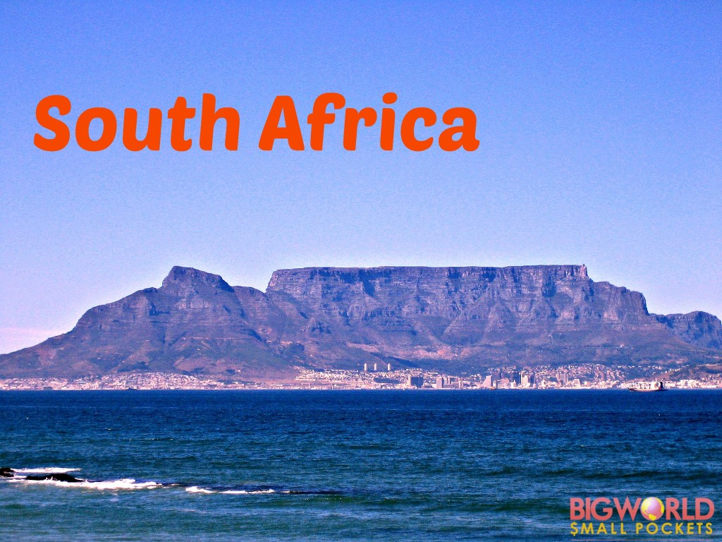 South Africa Destination Title
