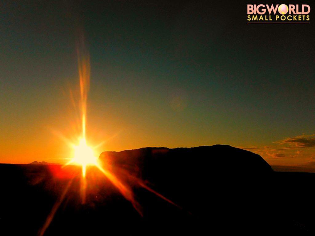 Australia, Uluru, Sunset