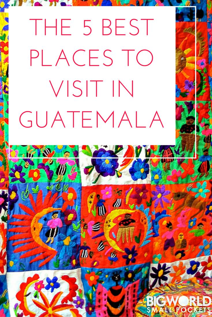 5 BEST Places in Guatemala inc. Antigua & Tikal! {Big World Small Pockets}