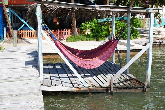 Belize, Cay Caulker, Hammock