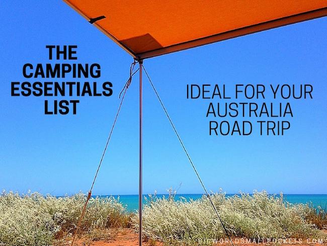 Camping Essentials List Australia