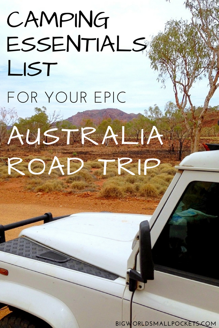 Complete Camping Essentials List for Australia Road Tripping {Big World Small Pockets}