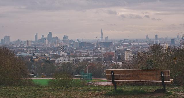 England, London, Parliament Hill
