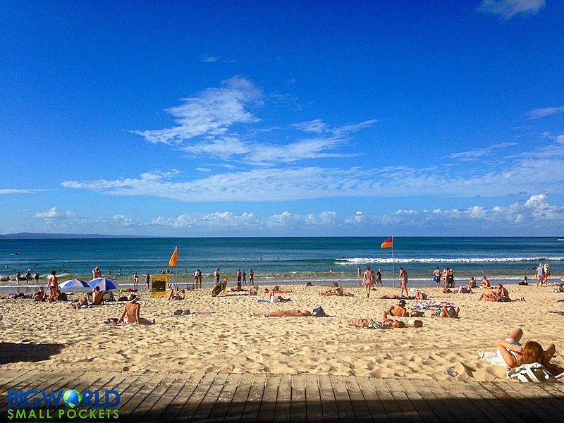 Australia, Queensland, Noosa Heads Main Beach