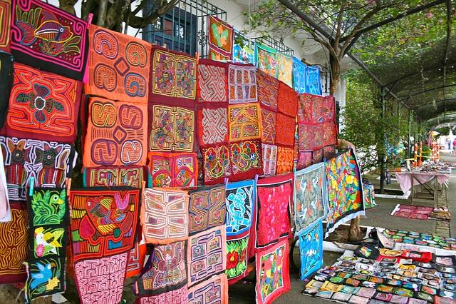 Panama, Market, Textiles