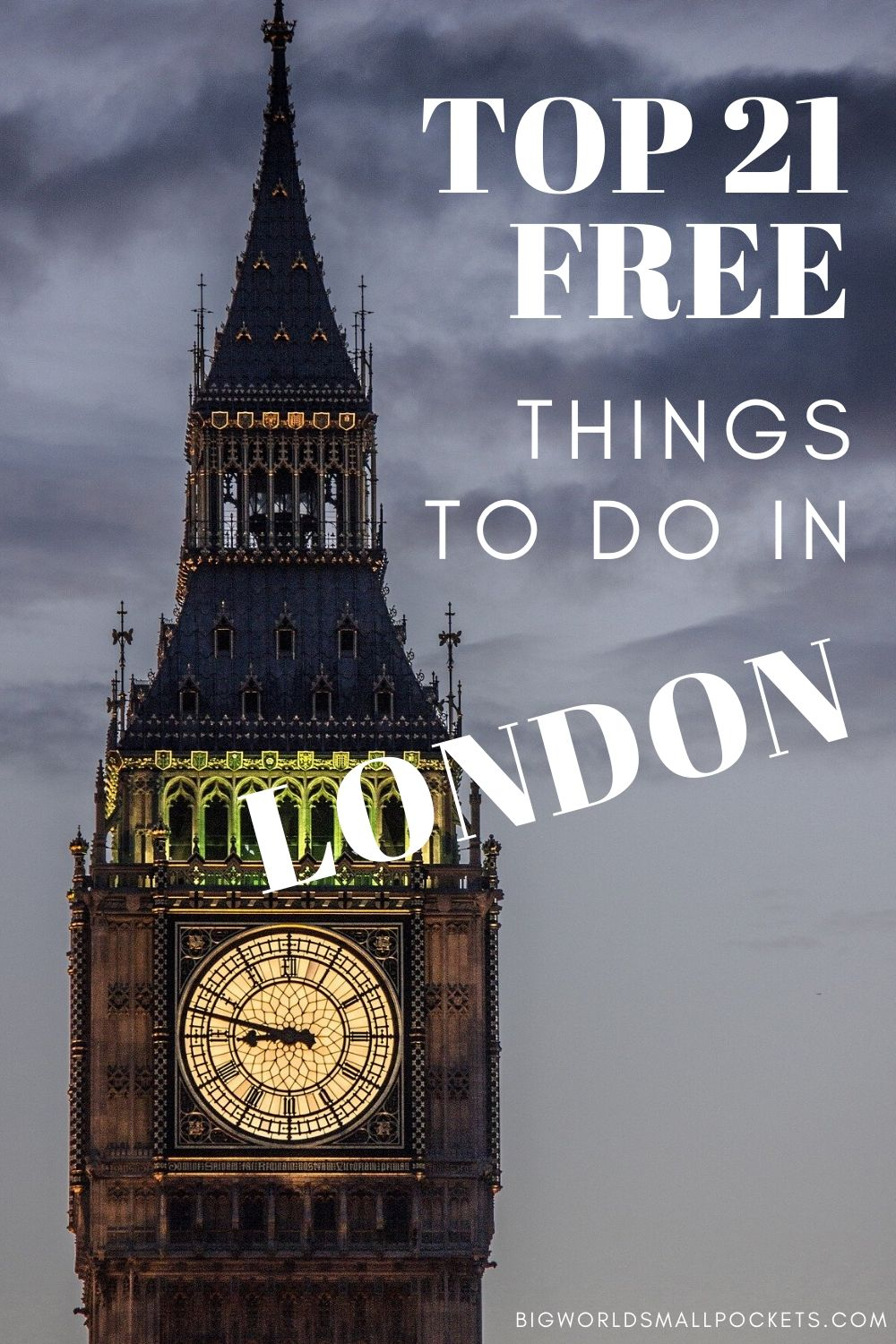 Top 21 Free Things To Do in London!
