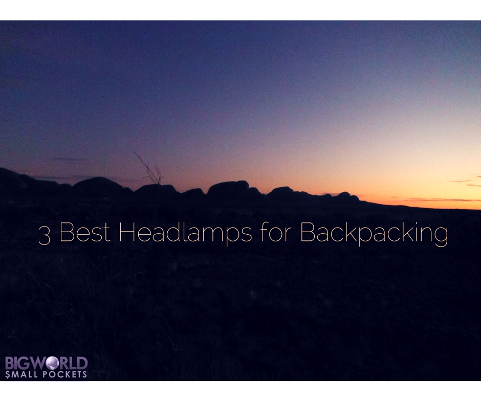3 Best Headlamps for Backpacking