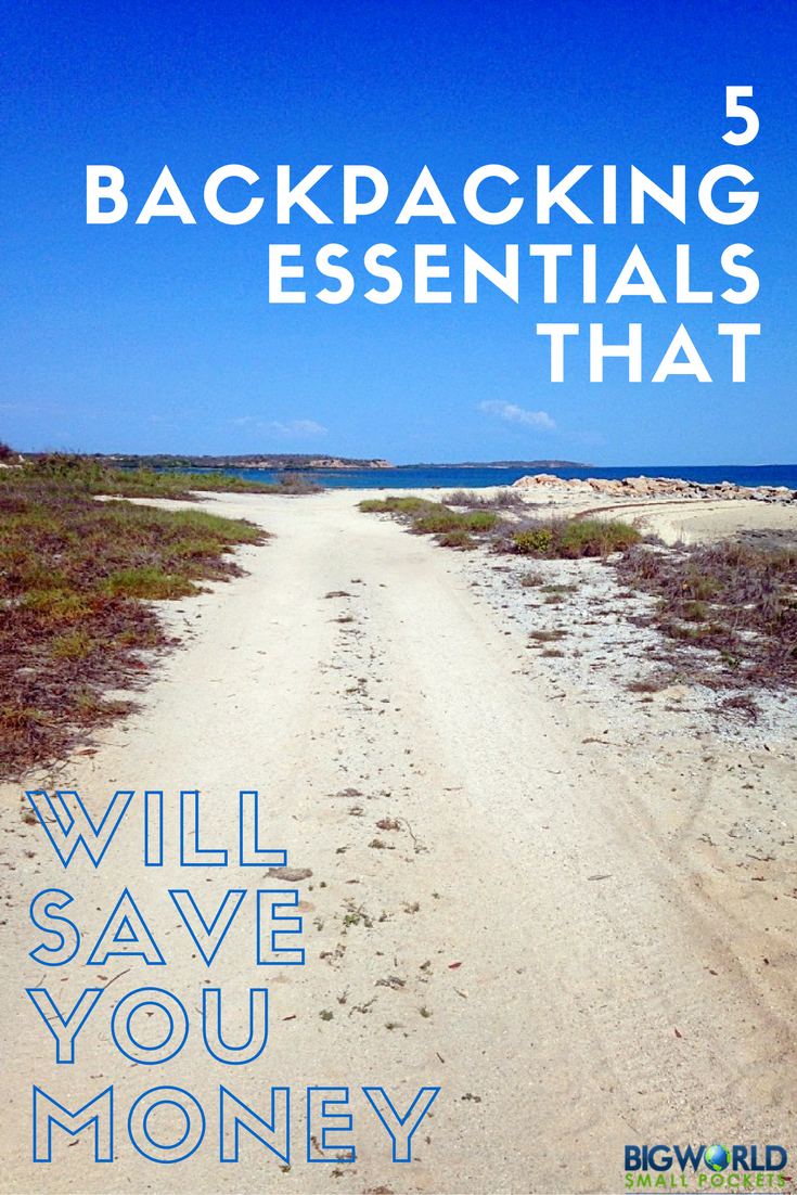 5 Awesome Backpacking Items That Will Save You Money on Your Travels {Big World Small Pockets}
