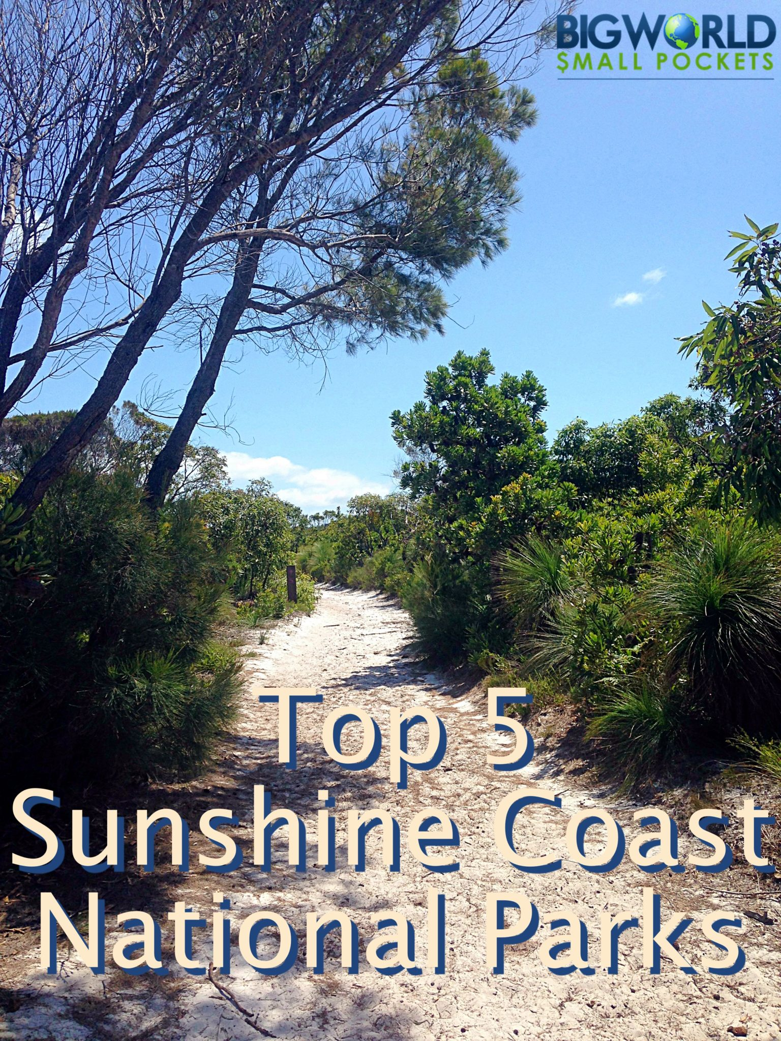 I love exploring the national parks of Australia and here I've picked my favourite 5 in the area I'm currently based in - the gorgeous Sunshine Coast of Queensland {Big World Small Pockets}