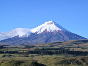 Ecuador, Cotopaxi, Snowy