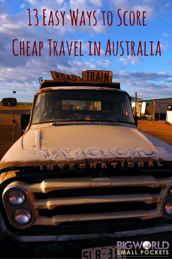 13 Easy Ways to Score Cheap Travel When You Visit Australia - Big World Small Pockets