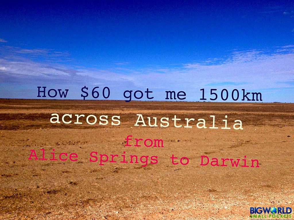 Alice Springs to Darwin