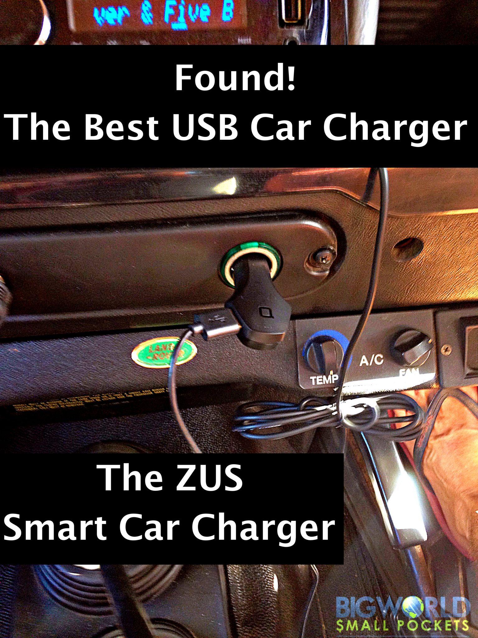 ZUS USB Car Charger {Big World Small Pockets}