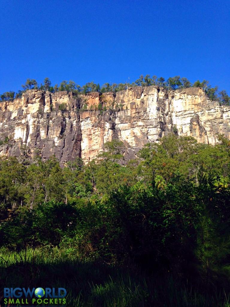 Carnarvon Gorge Cliffs