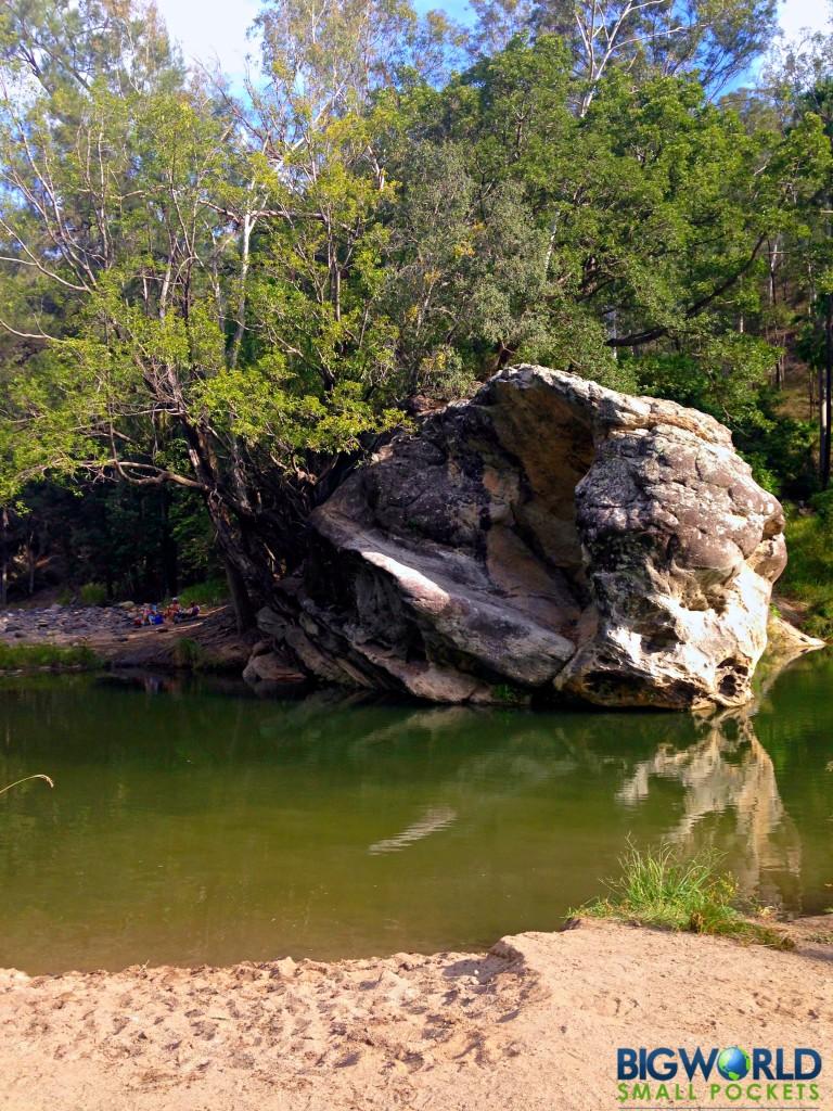 Carnarvon Gorge Rock Pool