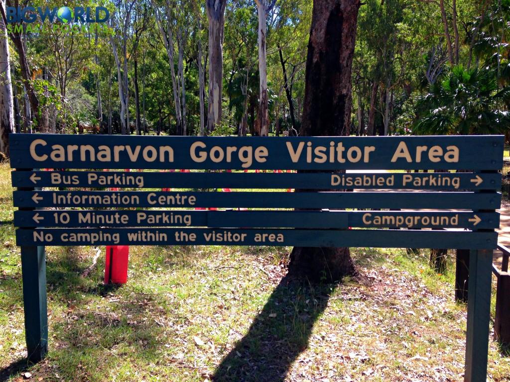 Carnarvon Gorge Visitor Area
