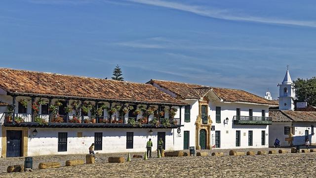 Colombia, Villa De Lyva, Square