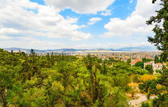 Greece, Athens, View
