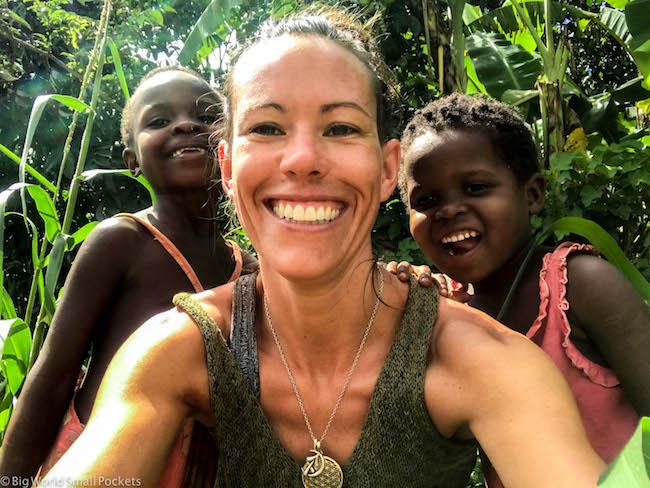 Uganda, Orphanage, Me & Kids