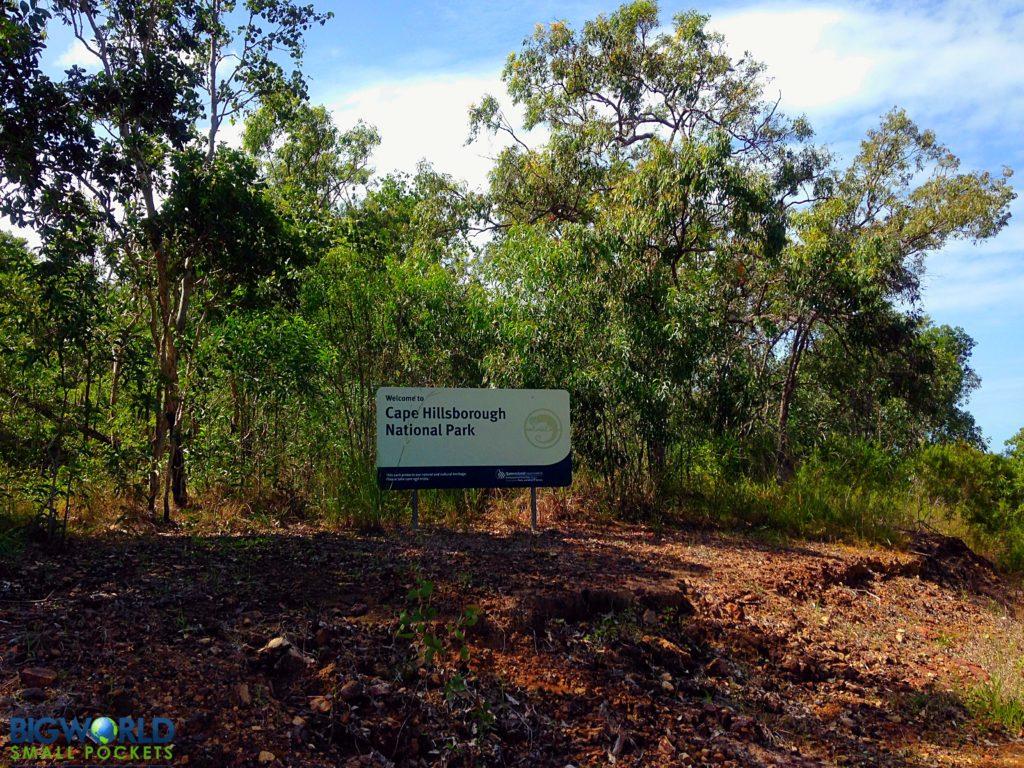 Cape Hillsborough Sign