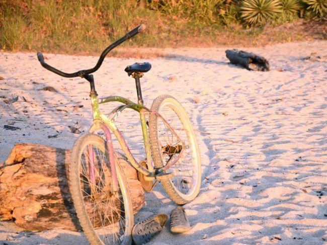 Costa Rica, Beach, Bike