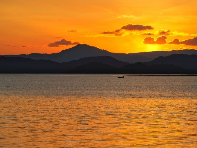 Costa Rica, Beach, Sunset