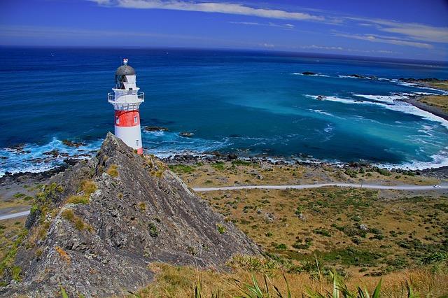 New Zealand, Lighthouse