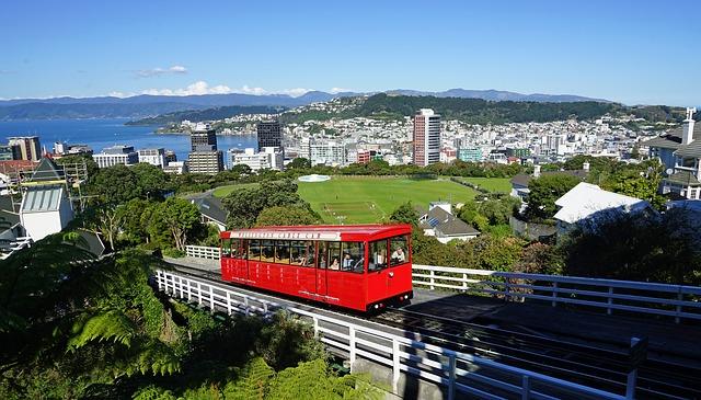 New Zealand, Wellington, Tram