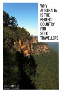 Why Australia is the Perfect Country For Solo Travellers {Big World Small Pockets}