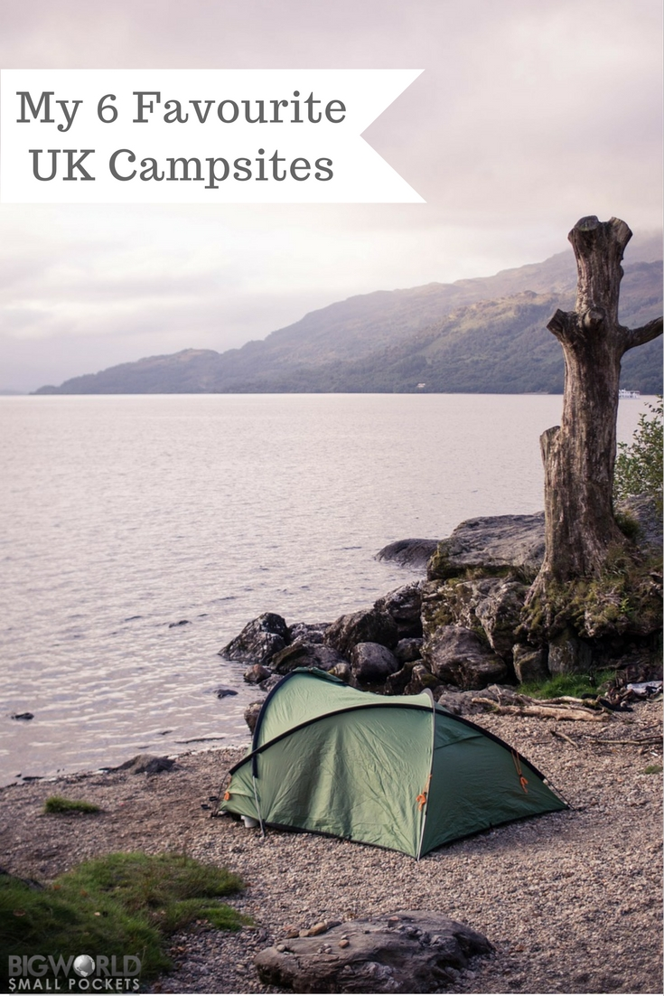 6 Of My Favourite Camp Spots in the UK {Big World Small Pockets}