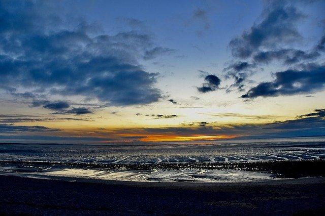 England, Lancashire, Morecambe Bay