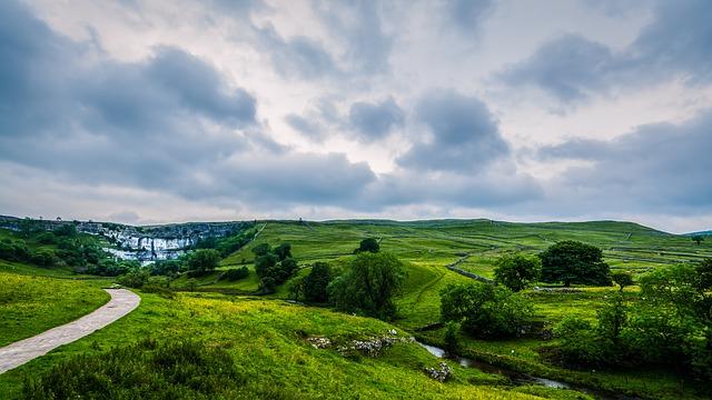 England, Yorkshire, Malham