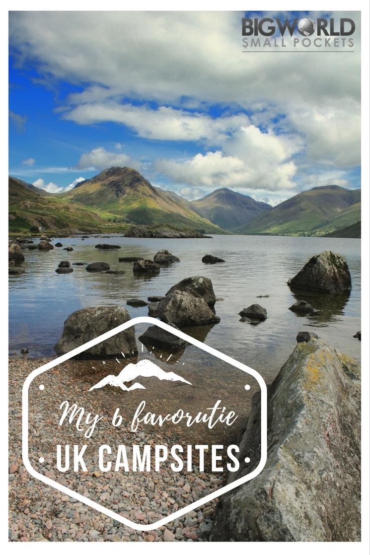 My 6 Favourite UK Campsites {Big World Small Pockets}