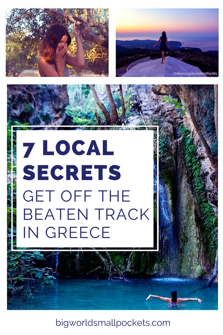 7 Local Secrets // How to Get Off the Beaten Track in Greece {Big World Small Pockets}