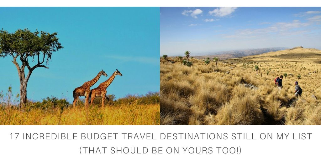 Budget Travel Bucket List Feature